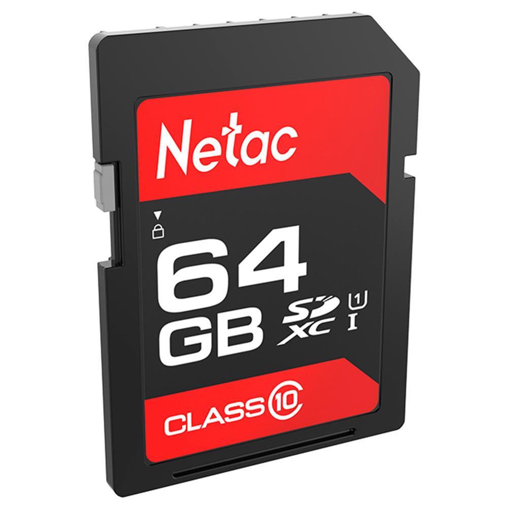sd-card Netac P600 64GB SD Card UHS-I Class 10 SDHC Read Speed 80MB/s - Black Netac P600 64GB SD Card UHS I Class 10 SDHC Read Speed 80MB s Black 1