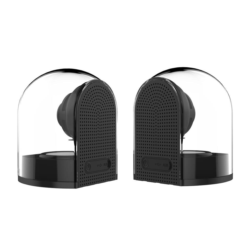 bluetooth-speakers OVEVO D18 3D Magnet Bluetooth 4.2 Speakers 1 in 2 Outdoor Waterproof HiFi Phone PC Speaker - Black OVEVO D18 3D Magnet Bluetooth 4 2 Speakers 1 in 2 Outdoor Waterproof HiFi Phone PC Speaker Black