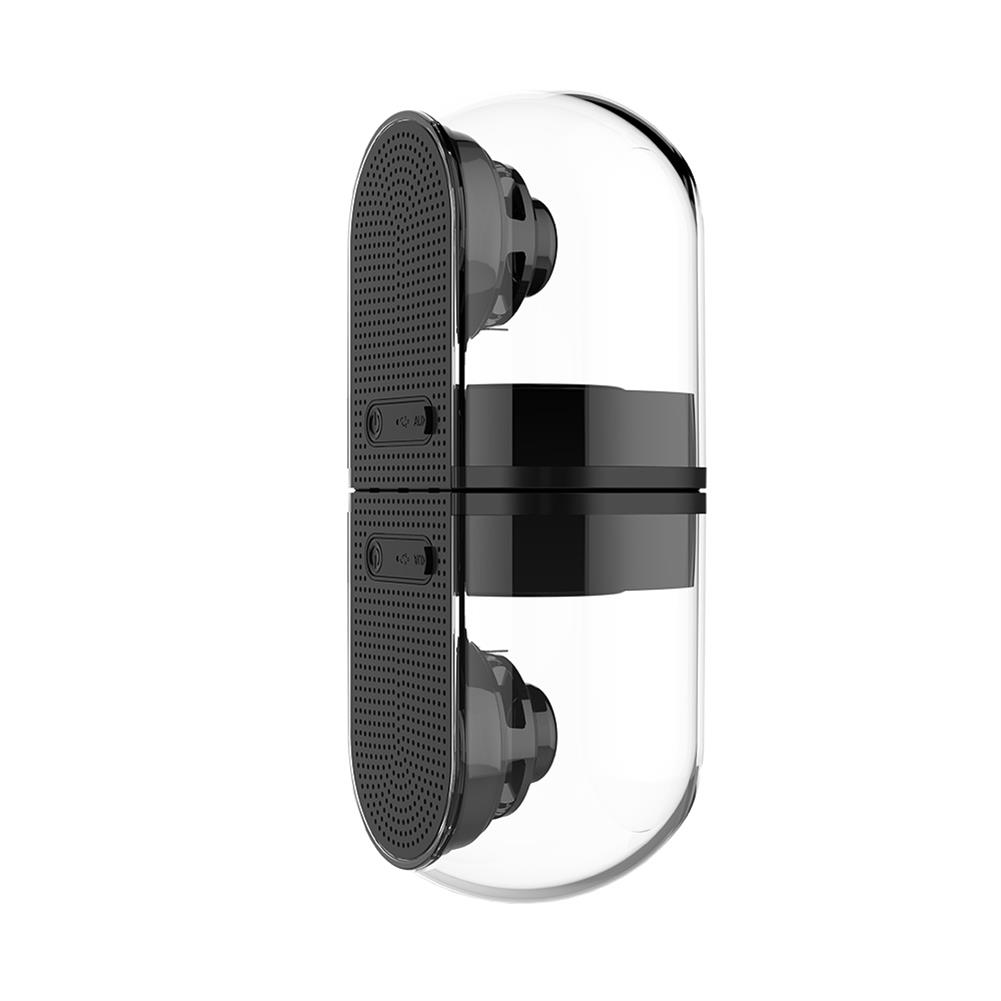 bluetooth-speakers OVEVO D18 3D Magnet Bluetooth 4.2 Speakers 1 in 2 Outdoor Waterproof HiFi Phone PC Speaker - Black OVEVO D18 3D Magnet Bluetooth 4 2 Speakers 1 in 2 Outdoor Waterproof HiFi Phone PC Speaker Black 1
