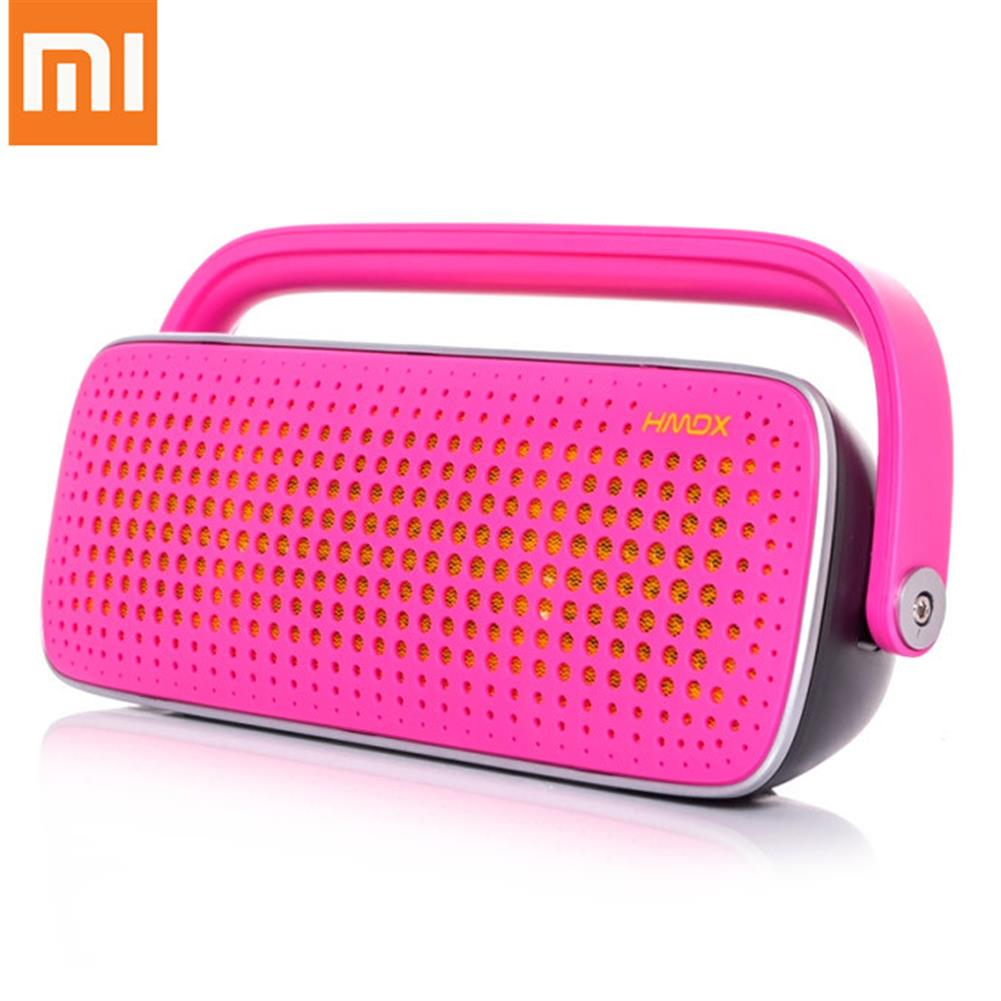 bluetooth-speakers Original XIAOMI Jam Blast Wireless Bluetooth Speaker Handsfree Surround Stereo Music Player with AV Interface - Pink Original XIAOMI Jam Blast Wireless Bluetooth Speaker Handsfree Surround Stereo Music Player with AV Interface Pink