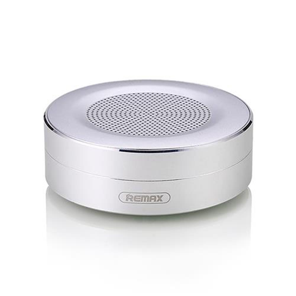 bluetooth-speakers REMAX RB-M13 Wireless Bluetooth Speaker TF Player HD Sound Data Transport Call Function - Silver REMAX RB M13 Wireless Bluetooth Speaker TF Player HD Sound Data Transport Call Function Silver