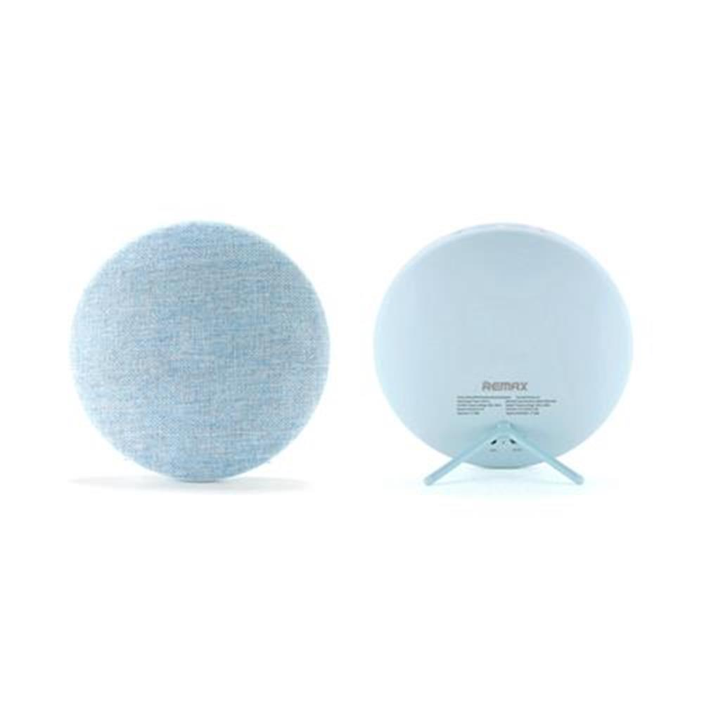 bluetooth-speakers REMAX RB-M9 Fabric Wireless Bluetooth Speaker 3.5Wx2 Stereo HiFi - Blue REMAX RB M9 Fabric Wireless Bluetooth Speaker 3 5Wx2 Stereo HiFi Blue