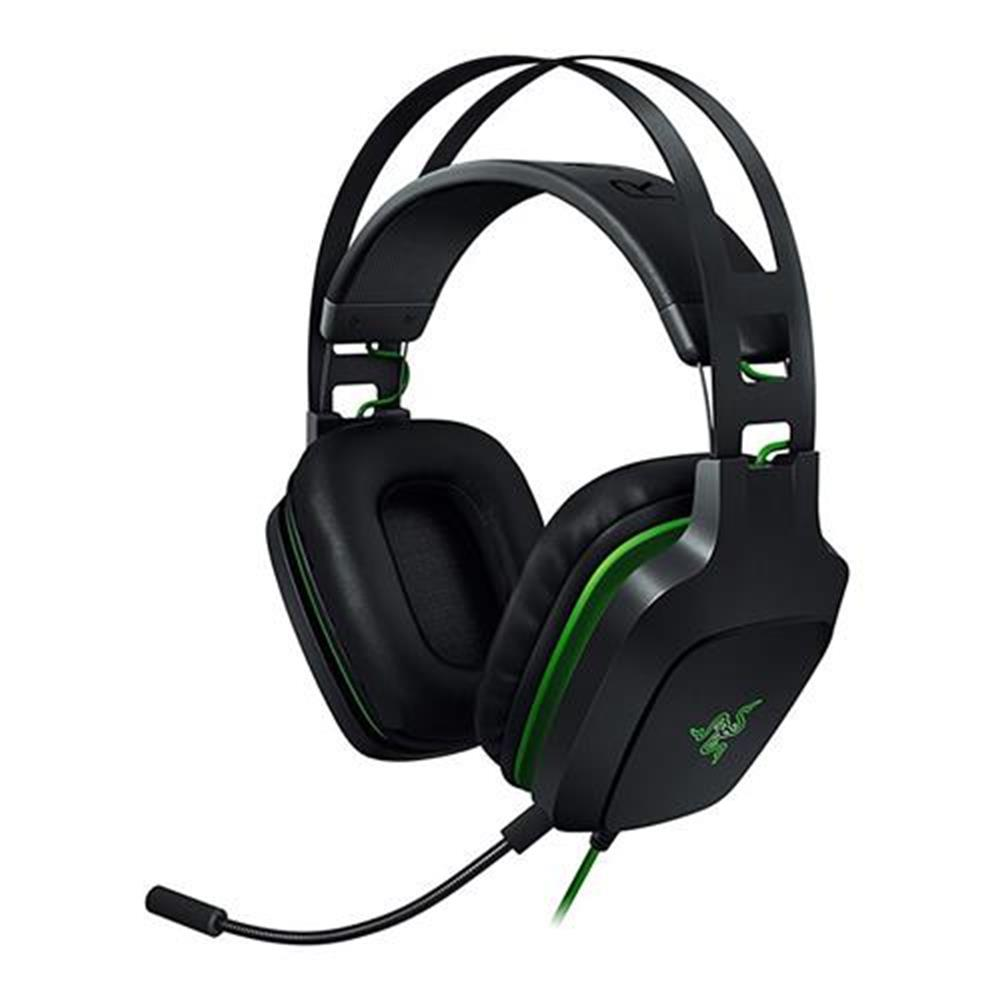 on-ear-over-ear-headphones Razer Electra USB V2 Gaming Headset 7.1 Surround Sound with Detachable Mic - Black Razer Electra USB V2 Gaming Headset 7 1 Surround Sound with Detachable Mic Black
