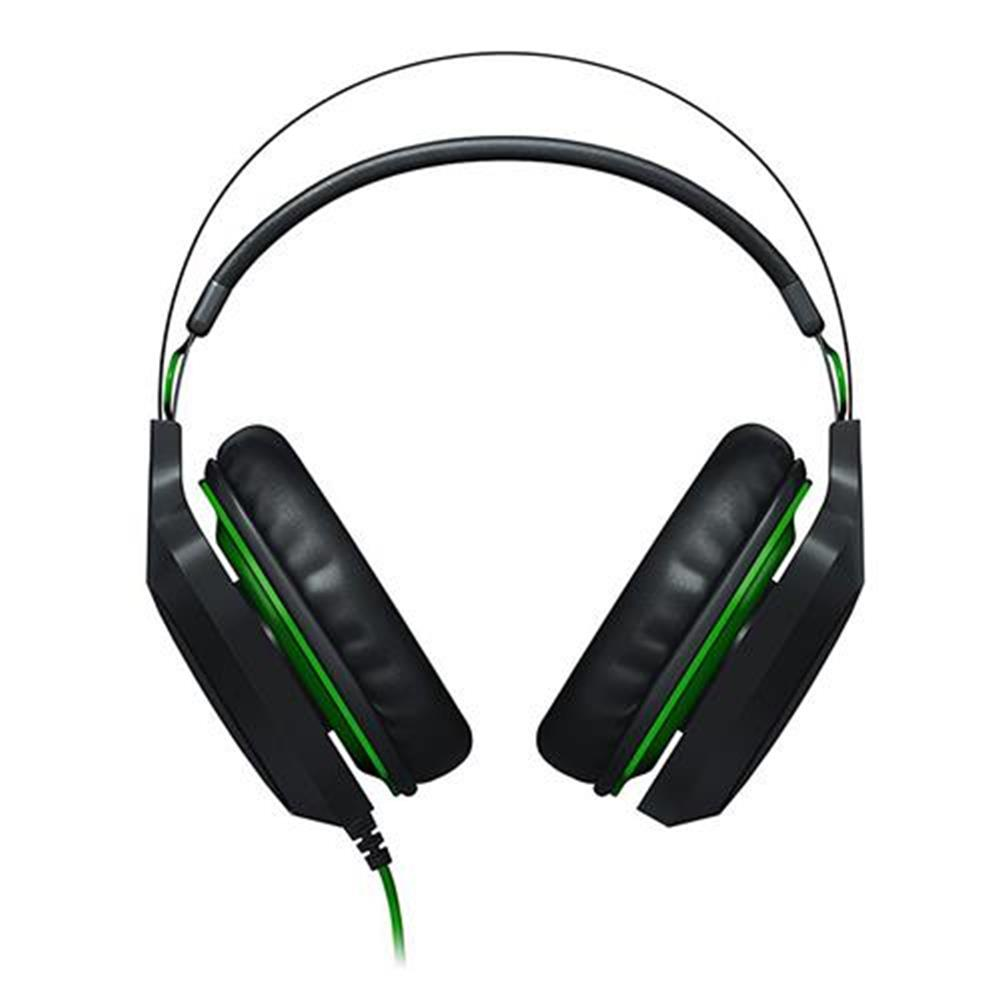 on-ear-over-ear-headphones Razer Electra USB V2 Gaming Headset 7.1 Surround Sound with Detachable Mic - Black Razer Electra USB V2 Gaming Headset 7 1 Surround Sound with Detachable Mic Black 2
