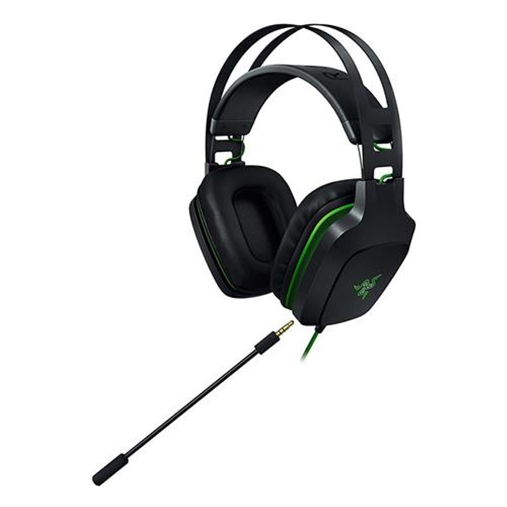 on-ear-over-ear-headphones Razer Electra USB V2 Gaming Headset 7.1 Surround Sound with Detachable Mic - Black Razer Electra USB V2 Gaming Headset 7 1 Surround Sound with Detachable Mic Black 3
