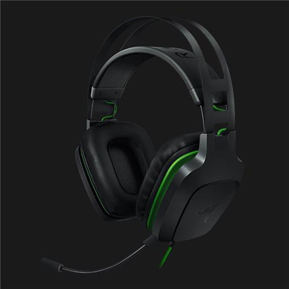 on-ear-over-ear-headphones Razer Electra V2 3.5mm Gaming Headset 7.1 Surround Sound with Detachable Mic for PC/Xbox One/PS4 - Black Razer Electra V2 3 5mm Gaming Headset 7 1 Surround Sound with Detachable Mic for PC Xbox One PS4 Black 2