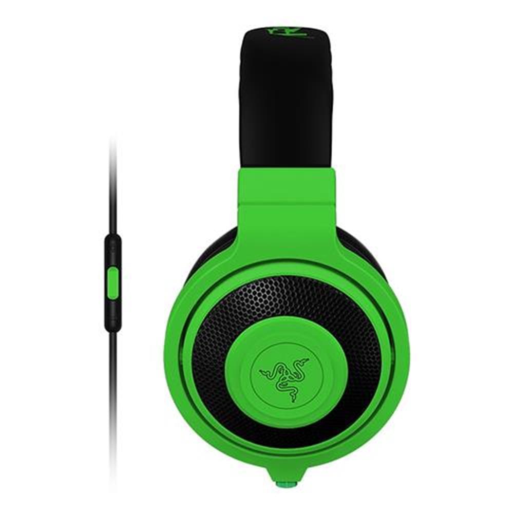 on-ear-over-ear-headphones Razer Kraken Mobile Analog Music and Gaming Headset 3.5mm with Mic - Green Razer Kraken Mobile Analog Music and Gaming Headset 3 5mm with Mic Green 2