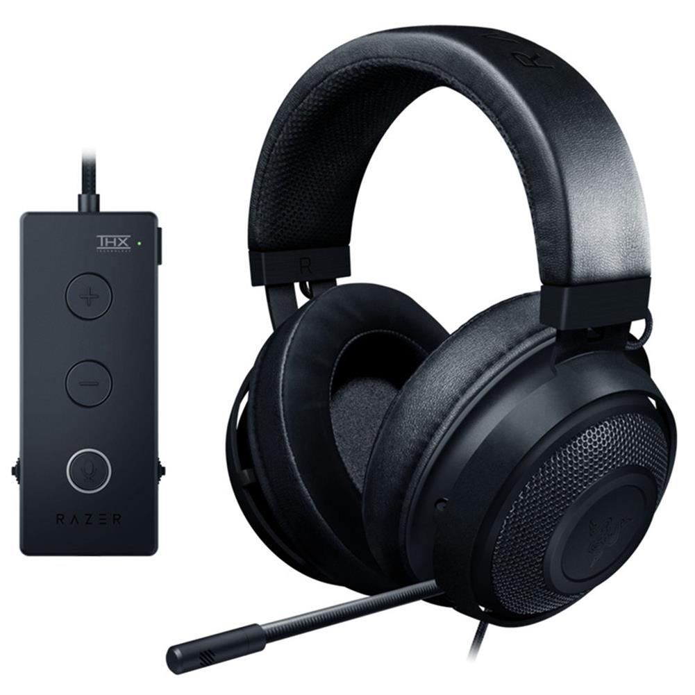 on-ear-over-ear-headphones Razer Kraken Tournament Edition Gaming Headset 3.5mm Jack Works with PC PS4 Xbox One Switch Mobile Devices -Black Razer Kraken Tournament Edition Gaming Headset 3 5mm Jack Works with PC PS4 Xbox One Switch Mobile Devices Black