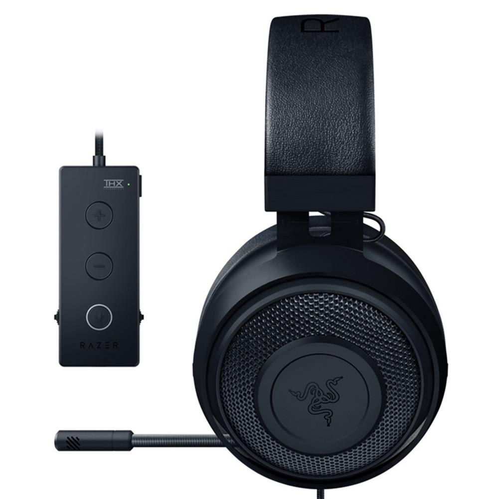 on-ear-over-ear-headphones Razer Kraken Tournament Edition Gaming Headset 3.5mm Jack Works with PC PS4 Xbox One Switch Mobile Devices -Black Razer Kraken Tournament Edition Gaming Headset 3 5mm Jack Works with PC PS4 Xbox One Switch Mobile Devices Black 2