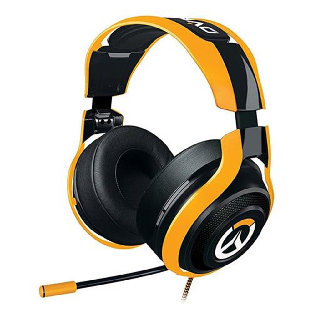 -Top Rated-Razer Man O 39 War Tournament Edition Analog Gaming Headset with Mic for PC Mac PS4 Black Yellow