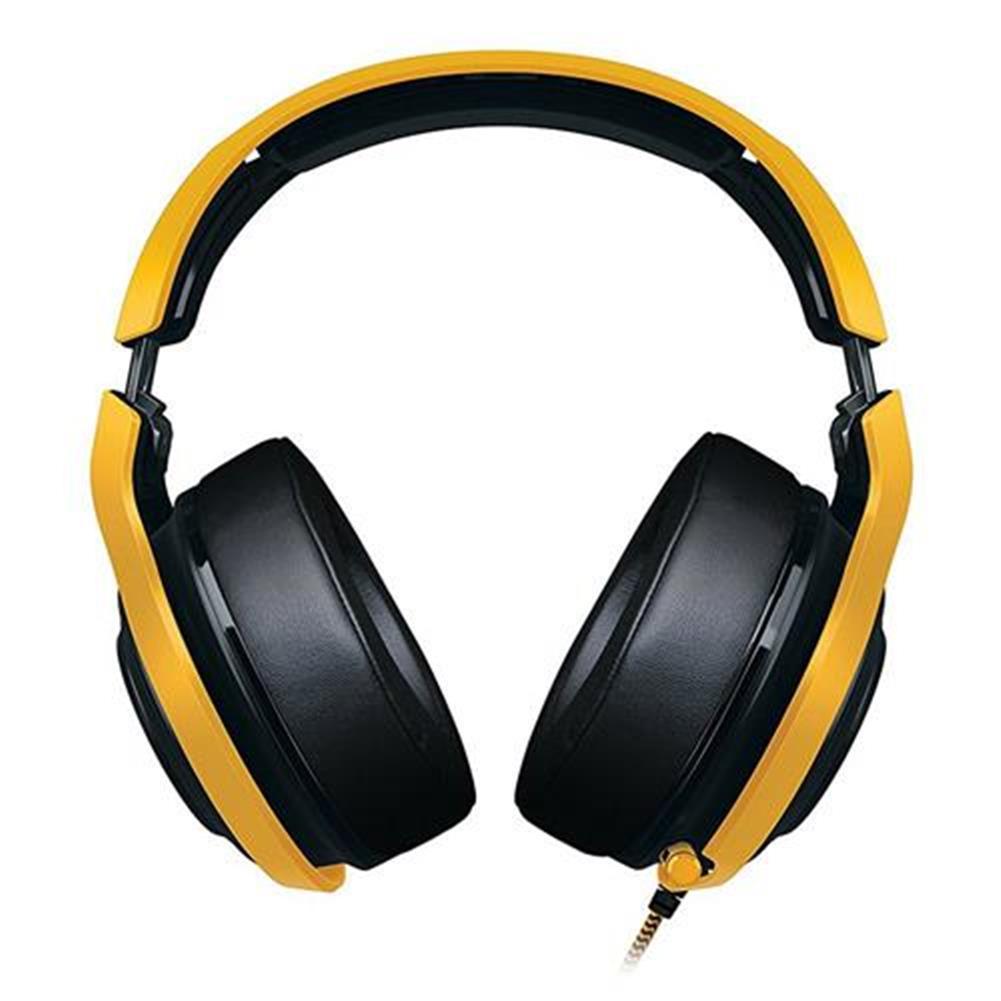 on-ear-over-ear-headphones Razer Man O'War Tournament Edition Analog Gaming Headset with Mic for PC/Mac/PS4 - Black + Yellow Razer Man O 39 War Tournament Edition Analog Gaming Headset with Mic for PC Mac PS4 Black Yellow 1