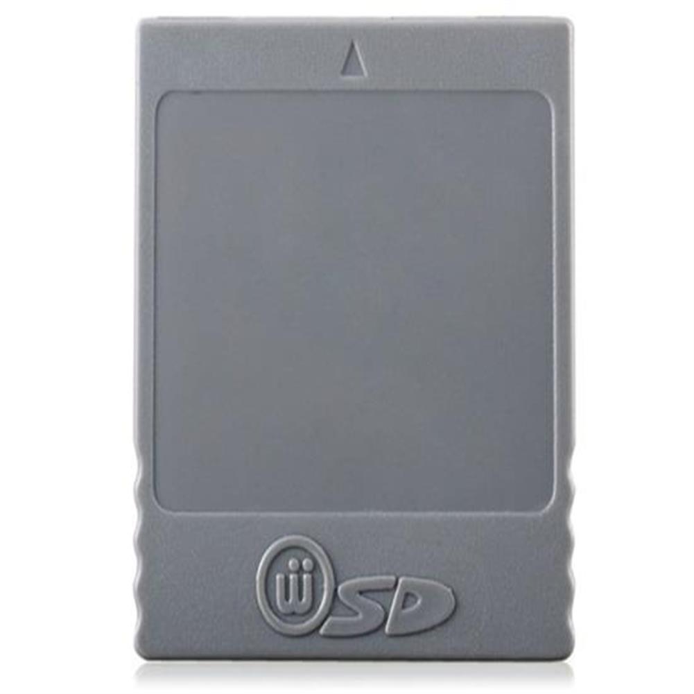sd-card SD Card Adapter for Wii - Gray SD Card Adapter for Wii Gray