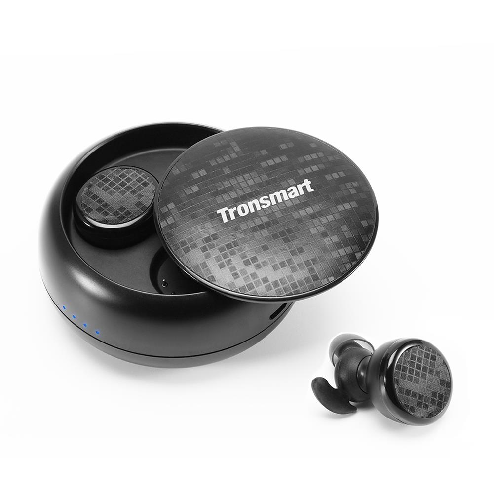 earbud-headphones-Tronsmart Encore Spunky Buds Bluetooth Headphones True Wireless Stereo Earbuds IPX5 Water Resistant with Mic for Phones-Tronsmart Encore Spunky Buds Bluetooth Headphones True Wireless Stereo Earbuds IPX5 Water Resistant with Mic for Phones