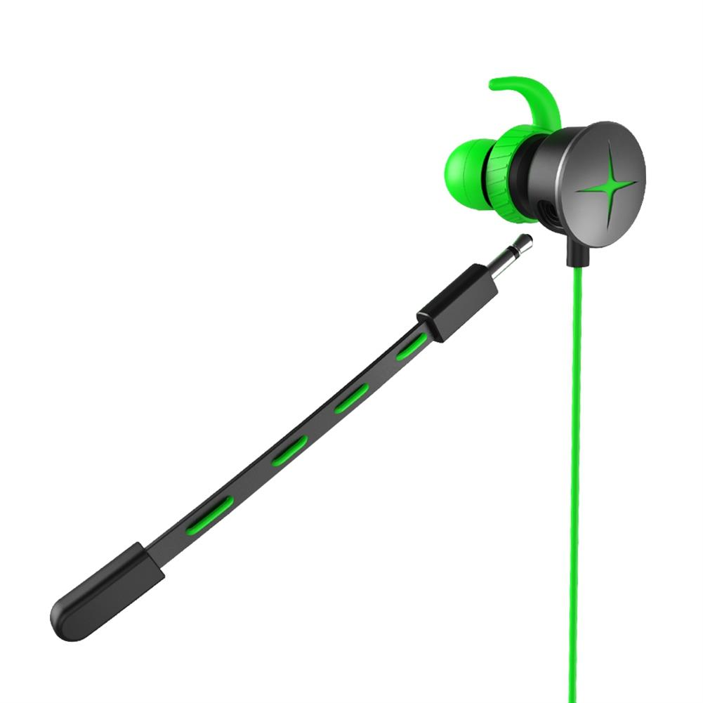 earbud-headphones V7 Gaming In-ear Earphones with Pluggable Mic 3.5mm 1m Y Splitter Cable - Green V7 Gaming In ear Earphones with Pluggable Mic 3 5mm 1m Y Splitter Cable Green 1