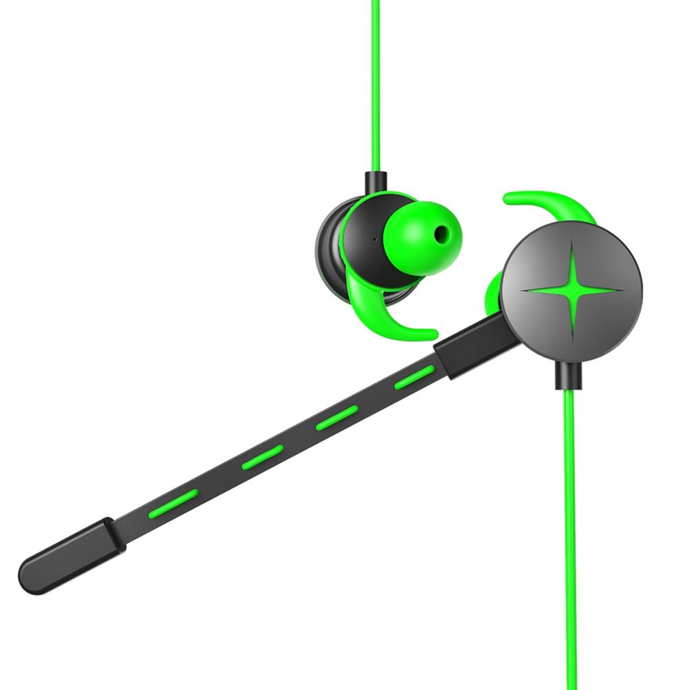 earbud-headphones V7 Gaming In-ear Earphones with Pluggable Mic 3.5mm 1m Y Splitter Cable - Green V7 Gaming In ear Earphones with Pluggable Mic 3 5mm 1m Y Splitter Cable Green 2