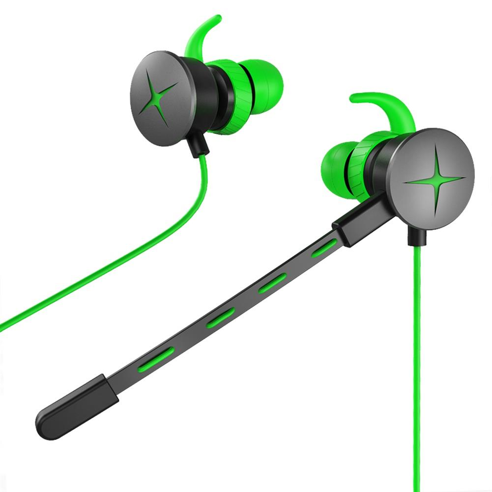 earbud-headphones V7 Gaming In-ear Earphones with Pluggable Mic 3.5mm 1m Y Splitter Cable - Green V7 Gaming In ear Earphones with Pluggable Mic 3 5mm 1m Y Splitter Cable Green 3