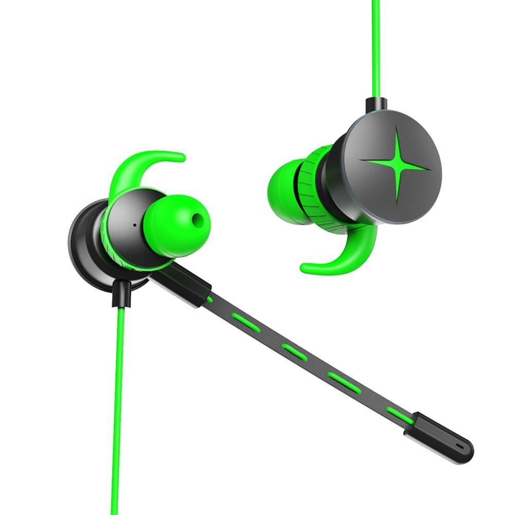 earbud-headphones V7 Gaming In-ear Earphones with Pluggable Mic 3.5mm 1m Y Splitter Cable - Green V7 Gaming In ear Earphones with Pluggable Mic 3 5mm 1m Y Splitter Cable Green 4