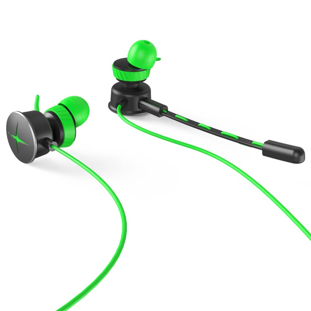 earbud-headphones V7 Gaming In-ear Earphones with Pluggable Mic 3.5mm 1m Y Splitter Cable - Green V7 Gaming In ear Earphones with Pluggable Mic 3 5mm 1m Y Splitter Cable Green 5
