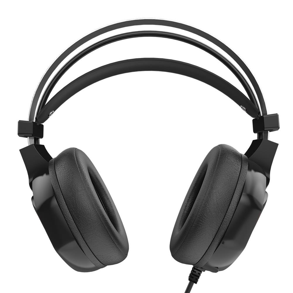 on-ear-over-ear-headphones V9 Gaming Headset USB 7.1 Surround Sound with Mic Wire Control LED Light Headphones - Black V9 Gaming Headset USB 7 1 Surround Sound with Mic Wire Control LED Light Headphones Black 4