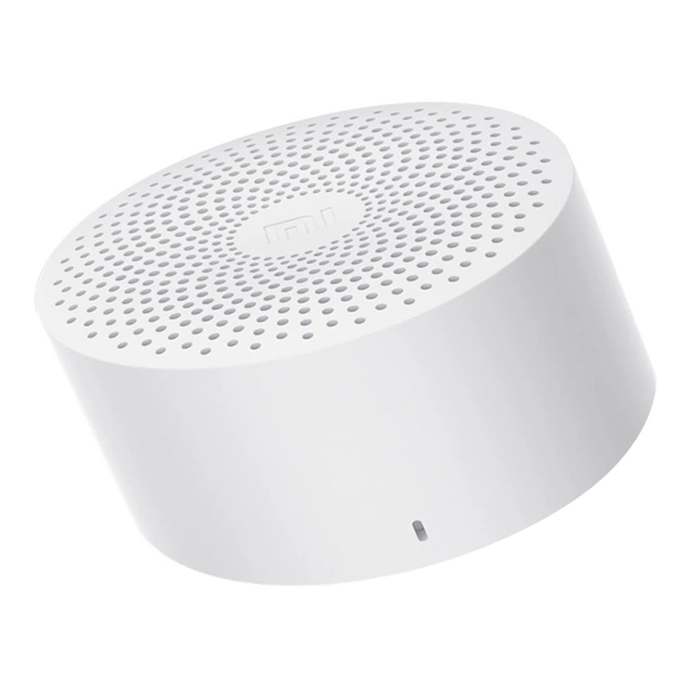 bluetooth-speakers-Xiaomi AI Wireless Bluetooth Speaker Hands-free Bass Portable Version - White-Xiaomi AI Wireless Bluetooth Speaker Hands free Bass Portable Version White