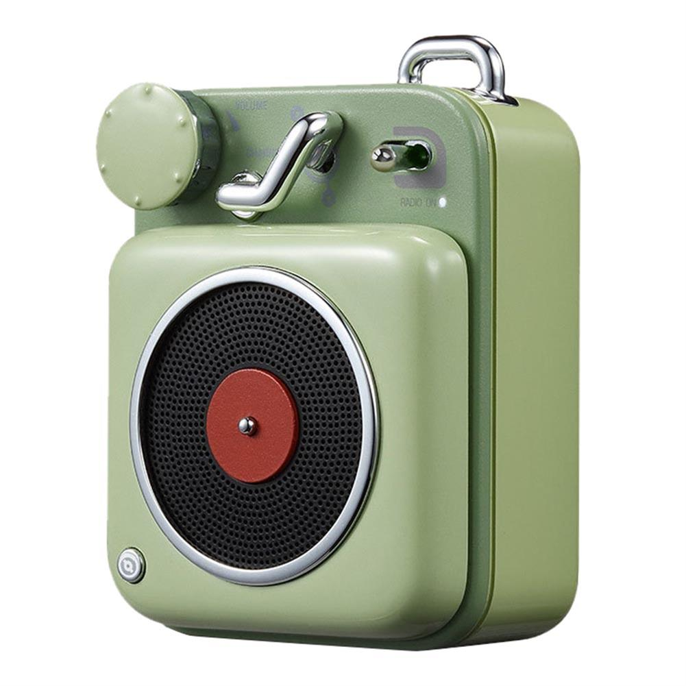bluetooth-speakers-Xiaomi Elvis Presley Atomic Cat King Player B612 Retro Compact Bluetooth Smart Audio Portable Speaker - Green-Xiaomi Elvis Presley Atomic Cat King Player B612 Retro Compact Bluetooth Smart Audio Portable Speaker Green