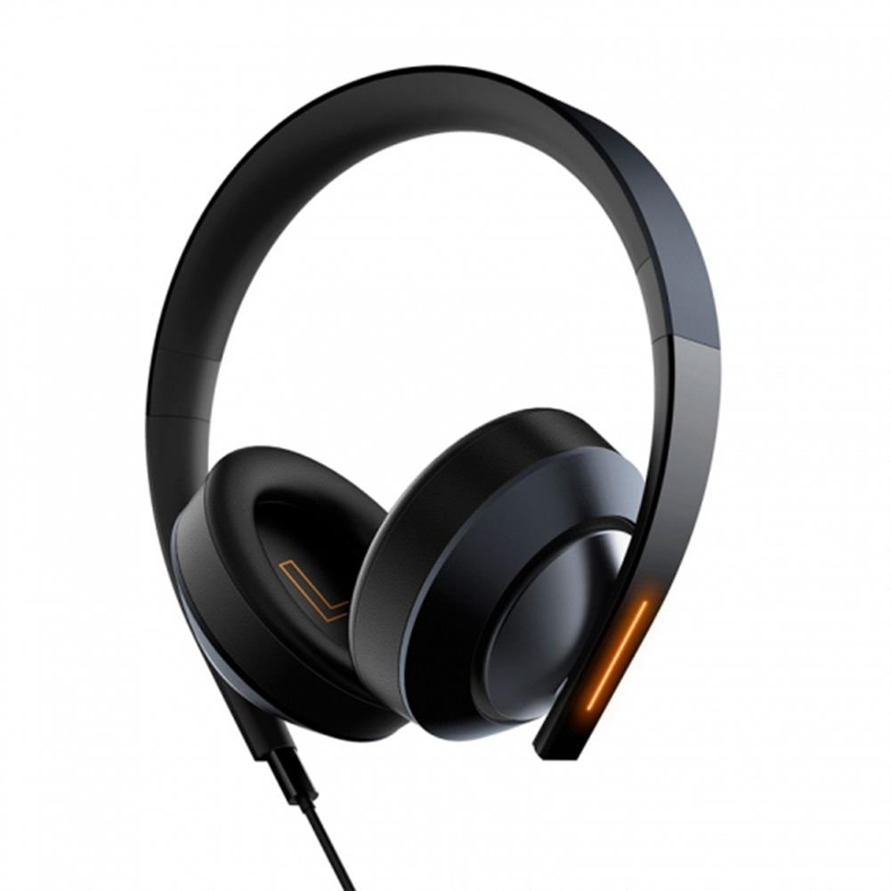 on-ear-over-ear-headphones Xiaomi Gaming Headphones Virtual 7.1 Surround Sound with 40mm Driver LED Lights - Black Xiaomi Gaming Headphones Virtual 7 1 Surround Sound with 40mm Driver LED Lights Black