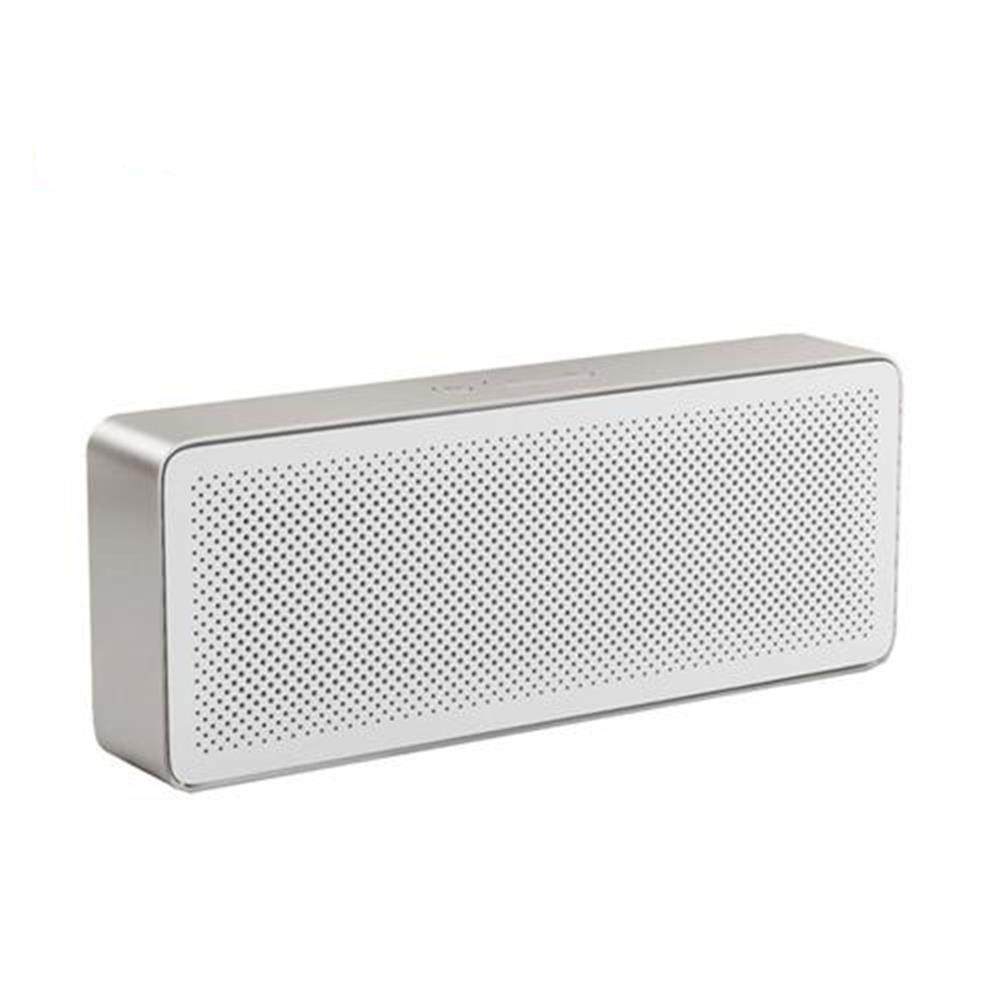 bluetooth-speakers-Xiaomi Square Box 2 Bluetooth V4.2 1200mAh AUX Line-in Hands-free Wireless Speaker with Mic - White-Xiaomi Square Box 2 Bluetooth V4 2 1200mAh AUX Line in Hands free Wireless Speaker with Mic White