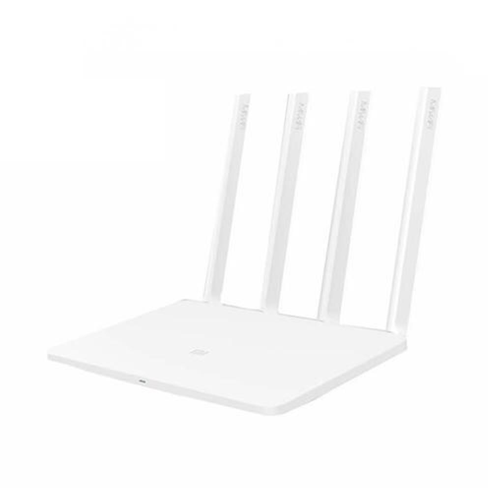 routers-modems-[English Version] Original Xiaomi Mi WiFi 3 Router EU Plug Smart 4 Antennas 1167Mbps Dual Band 128MB Flash ROM Support iOS Android APP - White- English Version Original Xiaomi Mi WiFi 3 Router EU Plug Smart 4 Antennas 1167Mbps Dual Band 128MB Flash ROM Support iOS Android APP White