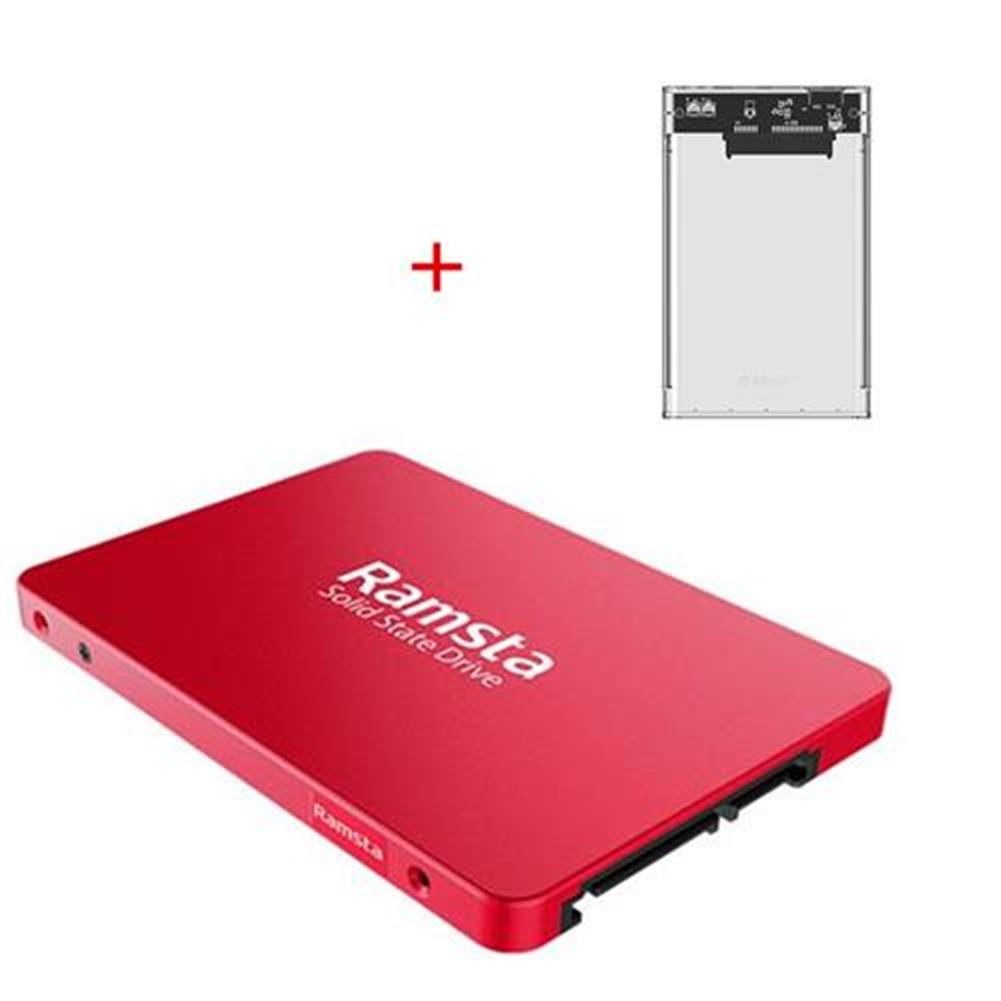 ssd-hdd-enclosures-[Package B] Ramsta S800 480GB SATA3 High Speed SSD (Red) + ORICO 2139U3-CR USB 3.0 SSD/HDD Enclosure External Hard Drive Case(Transparent)- Package B Ramsta S800 480GB SATA3 High Speed SSD Red ORICO 2139U3 CR USB 3 0 SSD HDD Enclosure External Hard Drive Case Transparent
