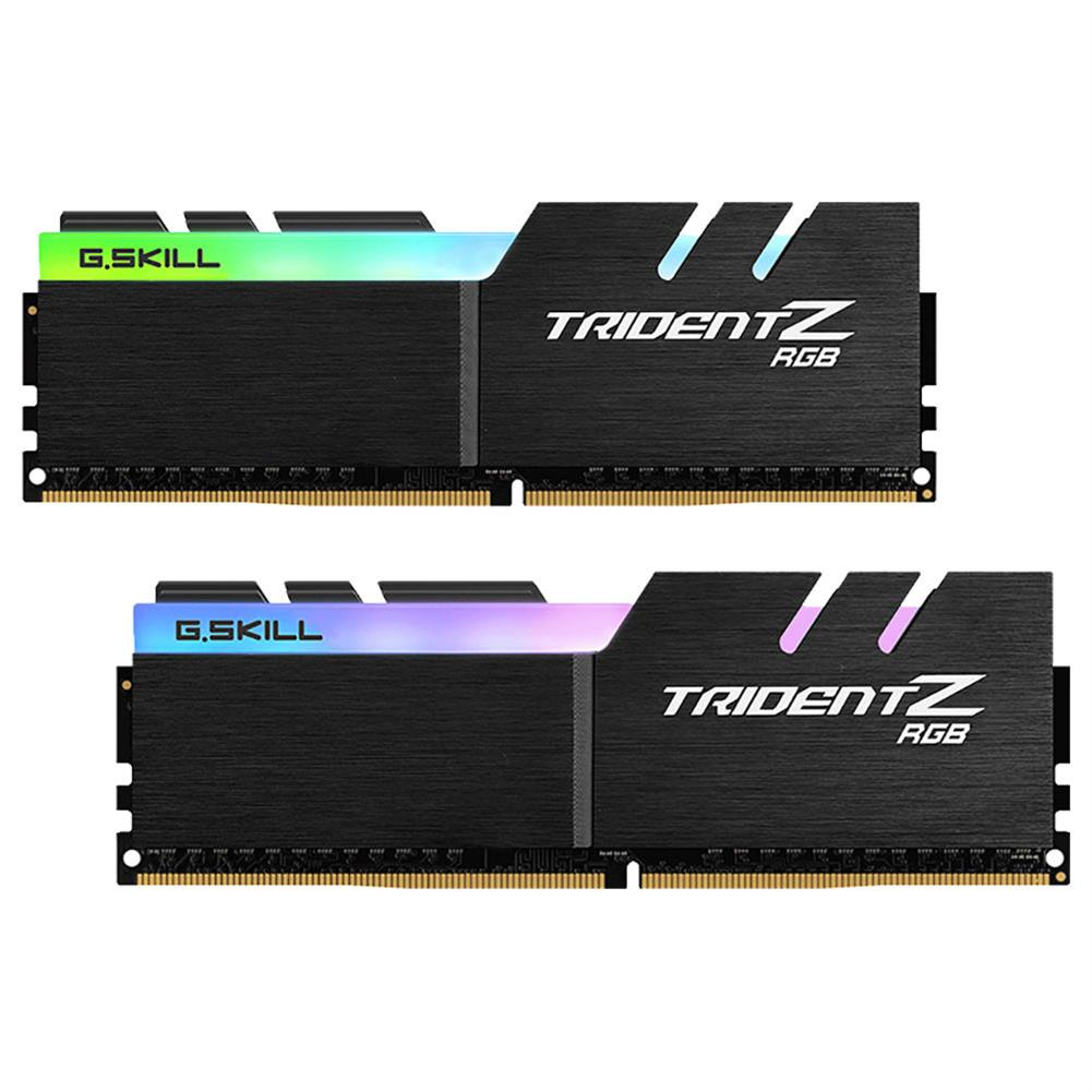 memory G.SKILL TridentZ RGB Series DDR4 3200MHz 16GB (2 x 8GB) Memory Modules Kit For Desktop Computer - Black G SKILL TridentZ RGB Series DDR4 3200MHz 16GB 2 x 8GB Memory Modules Kit For Desktop Computer Black 1