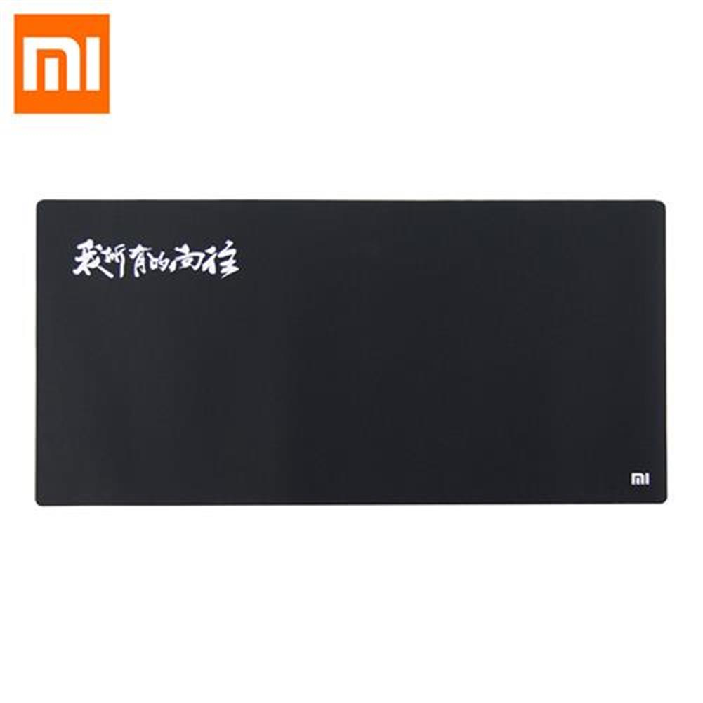 mouse-pads Original XiaoMi Anti-skid Big Size Rubber Mat Mouse Pad Bright Light Office Daily Supplies Computer - Black Original XiaoMi Anti skid Big Size Rubber Mat Mouse Pad Bright Light Office Daily Supplies Computer Black