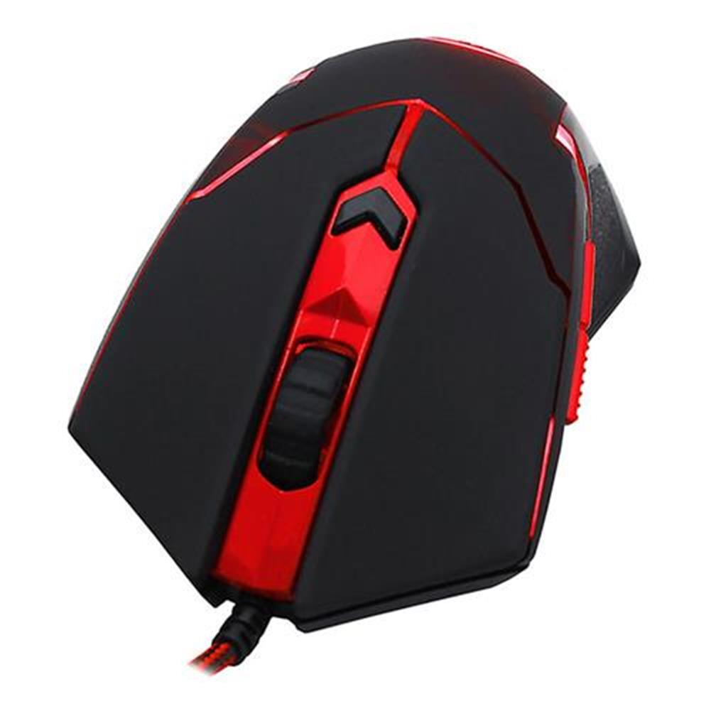 wired-mouse Redragon M601 Wired Gaming Mouse 3200 DPI 6 Buttons Ergonomic - Black + Red Redragon M601 Wired Gaming Mouse 3200 DPI 6 Buttons Ergonomic Black Red 2