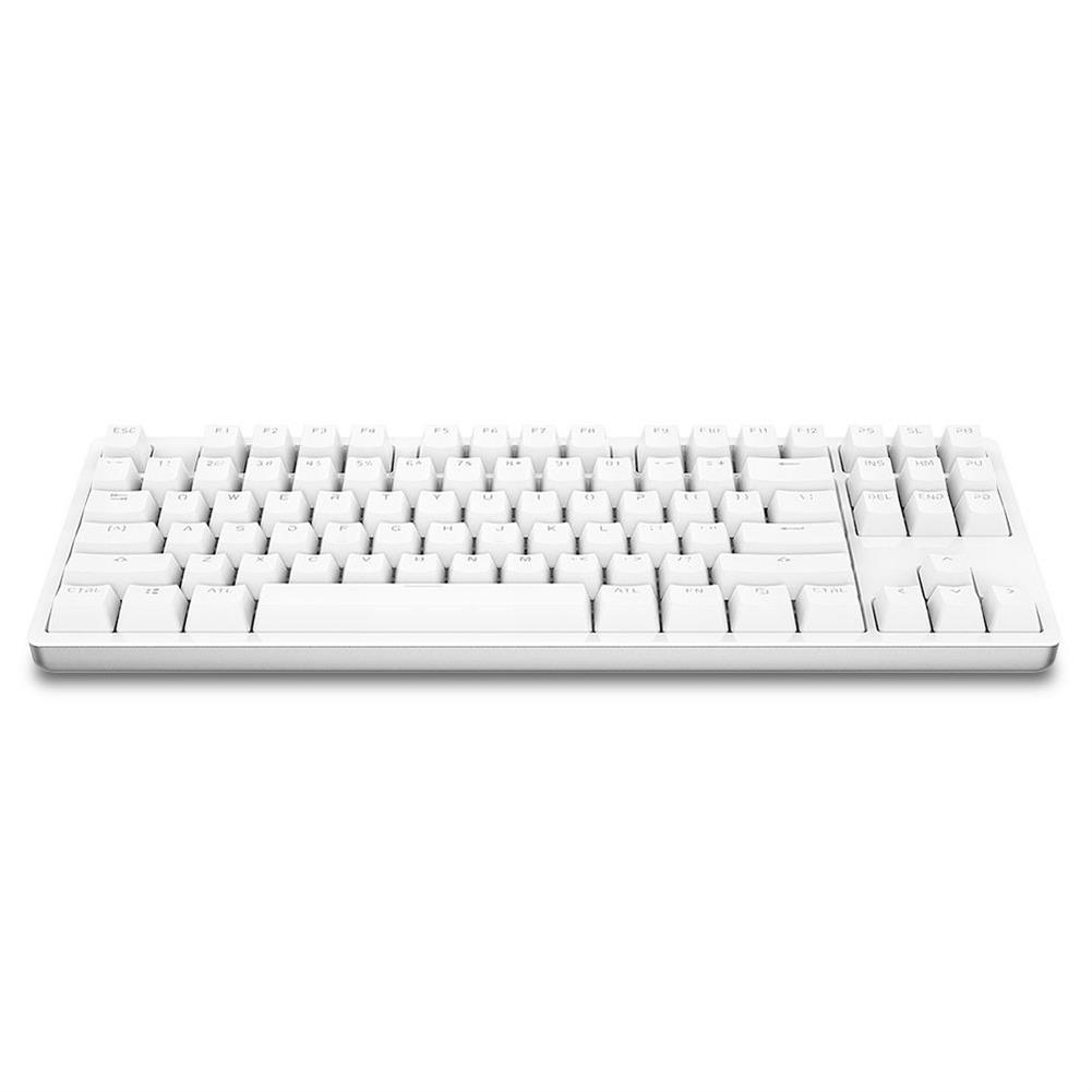 wired-keyboards XIAOMI Mi Mechanical Keyboard 87 Keys Gaming Keyboard with Cherry Red Switches and LED Backlit - White XIAOMI Mi Mechanical Keyboard 87 Keys Gaming Keyboard with Cherry Red Switches and LED Backlit White 4