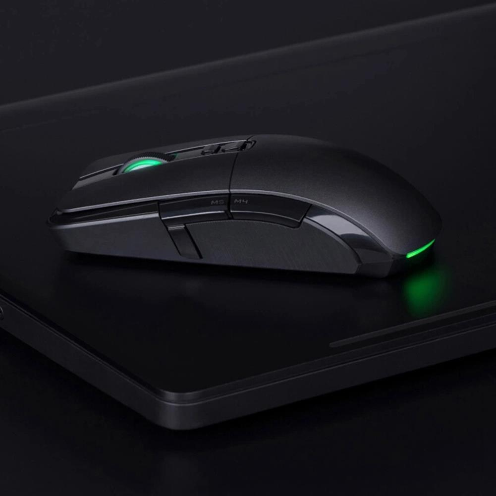 wireless-mouse Xiaomi Gaming Mouse Wired/Wireless Dual Mode Switch 7200DPI 6 Programmable Buttons RGB Colorful Lights - Black Xiaomi Gaming Mouse Wired Wireless Dual Mode Switch 7200DPI 6 Programmable Buttons RGB Colorful Lights Black 5