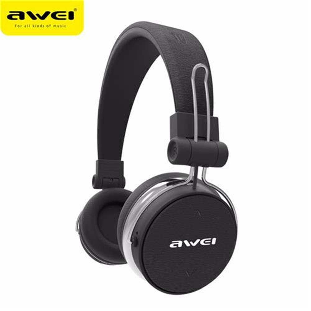 on-ear-over-ear-headphones AWEI A700BL Bluetooth Headphones with Mic Sports Super Deep Subwoofer Headset - Black AWEI A700BL Bluetooth Headphones with Mic Sports Super Deep Subwoofer Headset Black