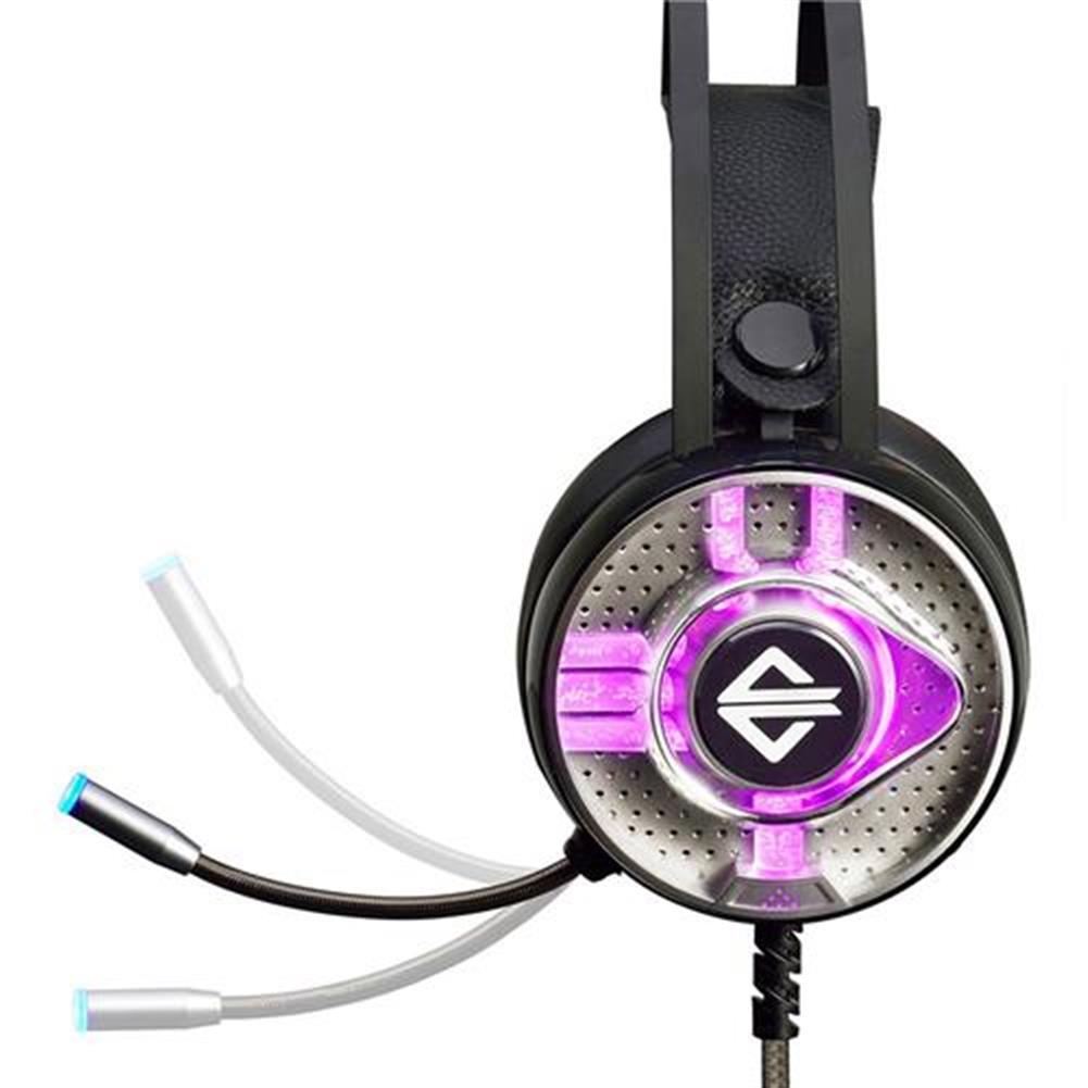 on-ear-over-ear-headphones Ajazz AX360 Gaming Headphones with Mic RGB Light USB 3.5mm Audio Jack - Black Ajazz AX360 Gaming Headphones with Mic RGB Light USB 3 5mm Audio Jack Black 1