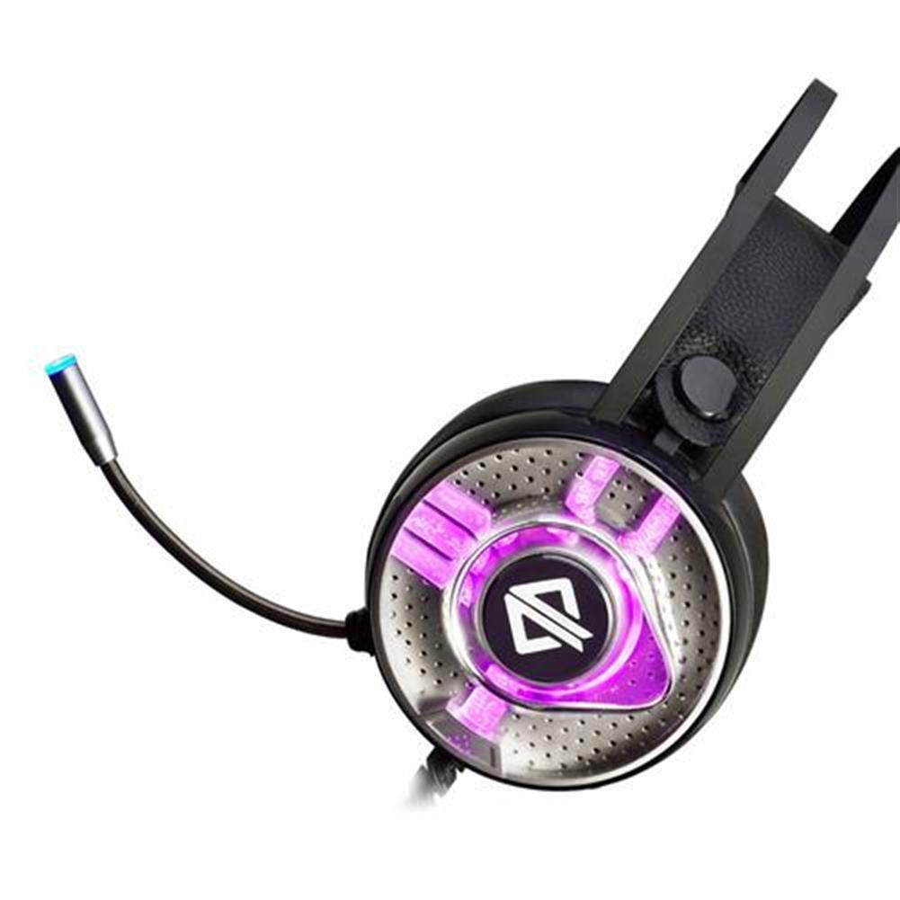 on-ear-over-ear-headphones Ajazz AX360 Gaming Headphones with Mic RGB Light USB 3.5mm Audio Jack - Black Ajazz AX360 Gaming Headphones with Mic RGB Light USB 3 5mm Audio Jack Black 2