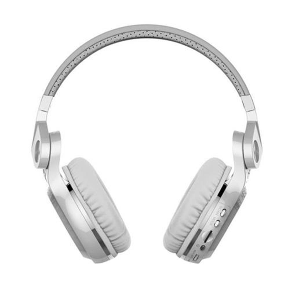 on-ear-over-ear-headphones-Bluedio T2+ Bluetooth4.1 Wireless Stereo Headphone TF Card FM  Music Headset - White-Bluedio T2 Bluetooth4 1 Wireless Stereo Headphone TF Card FM Music Headset White
