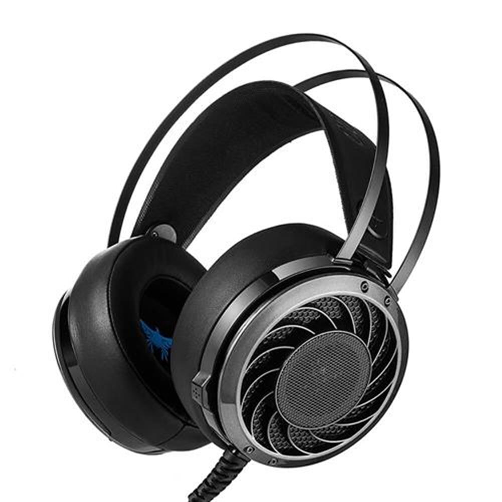 on-ear-over-ear-headphones Combaterwing M160 Professional Stereo Gaming Headsets Noise Isolation LED Light For Laptop Computer PS4 - Black Combaterwing M160 Professional Stereo Gaming Headsets Noise Isolation LED Light For Laptop Computer PS4 Black