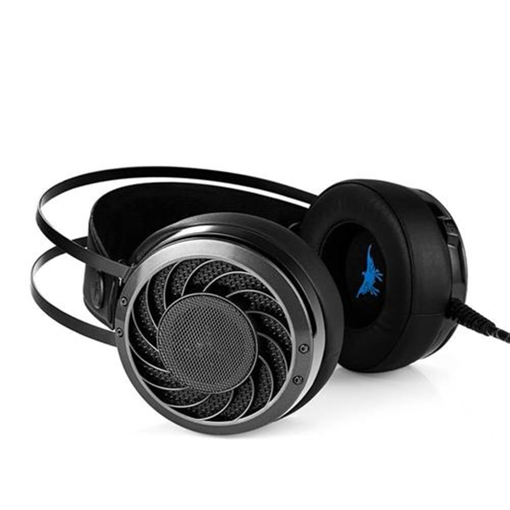 on-ear-over-ear-headphones Combaterwing M160 Professional Stereo Gaming Headsets Noise Isolation LED Light For Laptop Computer PS4 - Black Combaterwing M160 Professional Stereo Gaming Headsets Noise Isolation LED Light For Laptop Computer PS4 Black 3