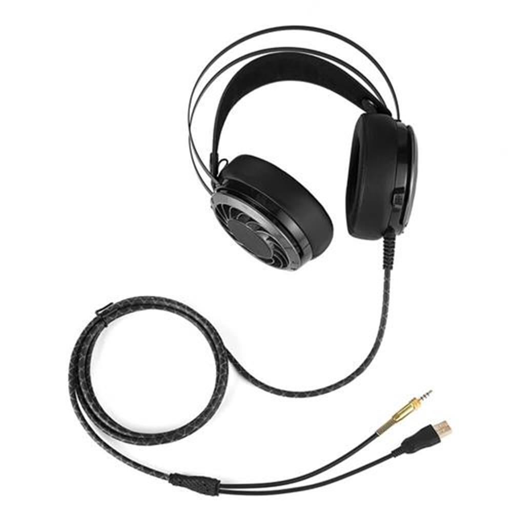 on-ear-over-ear-headphones Combaterwing M160 Professional Stereo Gaming Headsets Noise Isolation LED Light For Laptop Computer PS4 - Black Combaterwing M160 Professional Stereo Gaming Headsets Noise Isolation LED Light For Laptop Computer PS4 Black 5