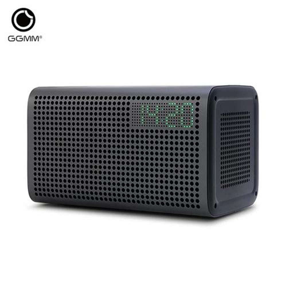 bluetooth-speakers-GGMM ES-201 E3 Portable WiFi Bluetooth Dual Wireless Connection Multifunctional Speaker - Gray-GGMM ES 201 E3 Portable WiFi Bluetooth Dual Wireless Connection Multifunctional Speaker Gray