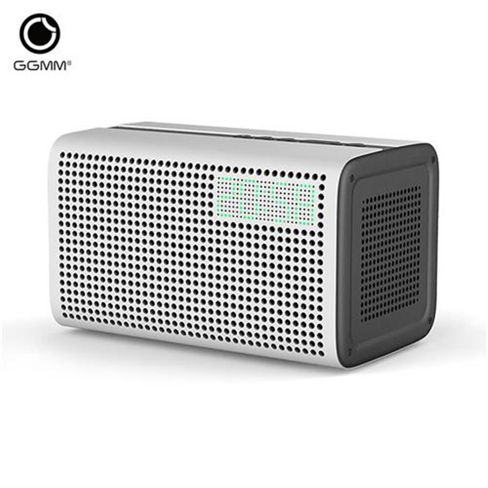bluetooth-speakers-GGMM ES-201 E3 Portable WiFi Bluetooth Dual Wireless Connection Multifunctional Speaker - White-GGMM ES 201 E3 Portable WiFi Bluetooth Dual Wireless Connection Multifunctional Speaker White