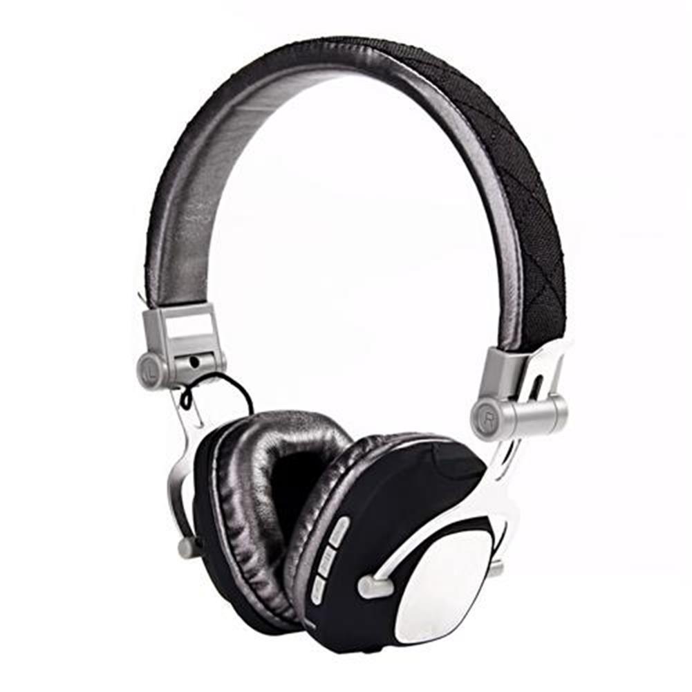 on-ear-over-ear-headphones-KOMC T5 On-ear Bluetooth 4.0 Metal Headphones 2.4GHz High-end Stereo Over Ear Wireless Earphones - Black-KOMC T5 On ear Bluetooth 4 0 Metal Headphones 2 4GHz High end Stereo Over Ear Wireless Earphones Black
