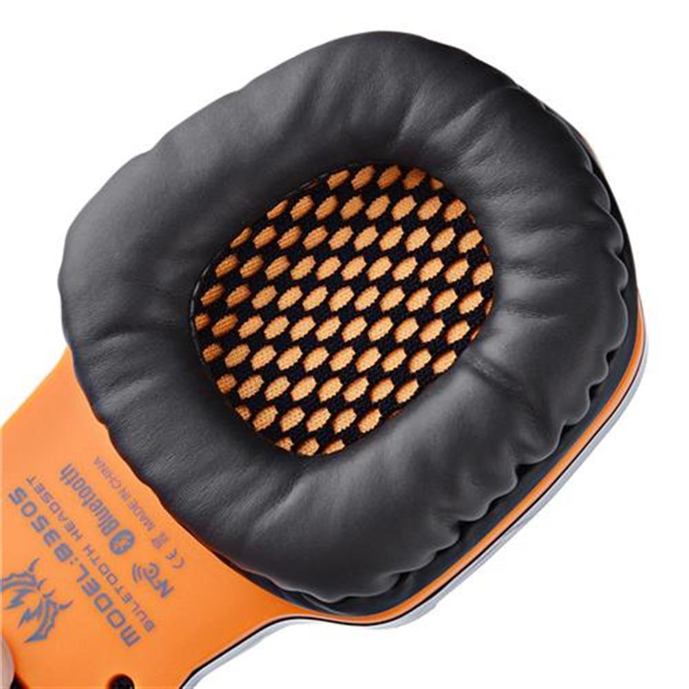 on-ear-over-ear-headphones KOTION EACH B3505 NFC Wireless Bluetooth 4.1 Stereo Gaming Headphone Headset With MIC - Black+Orange KOTION EACH B3505 NFC Wireless Bluetooth 4 1 Stereo Gaming Headphone Headset With MIC Black Orange 10