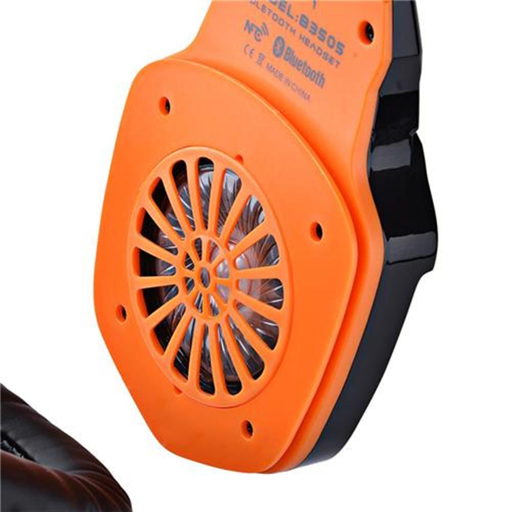 on-ear-over-ear-headphones KOTION EACH B3505 NFC Wireless Bluetooth 4.1 Stereo Gaming Headphone Headset With MIC - Black+Orange KOTION EACH B3505 NFC Wireless Bluetooth 4 1 Stereo Gaming Headphone Headset With MIC Black Orange 11