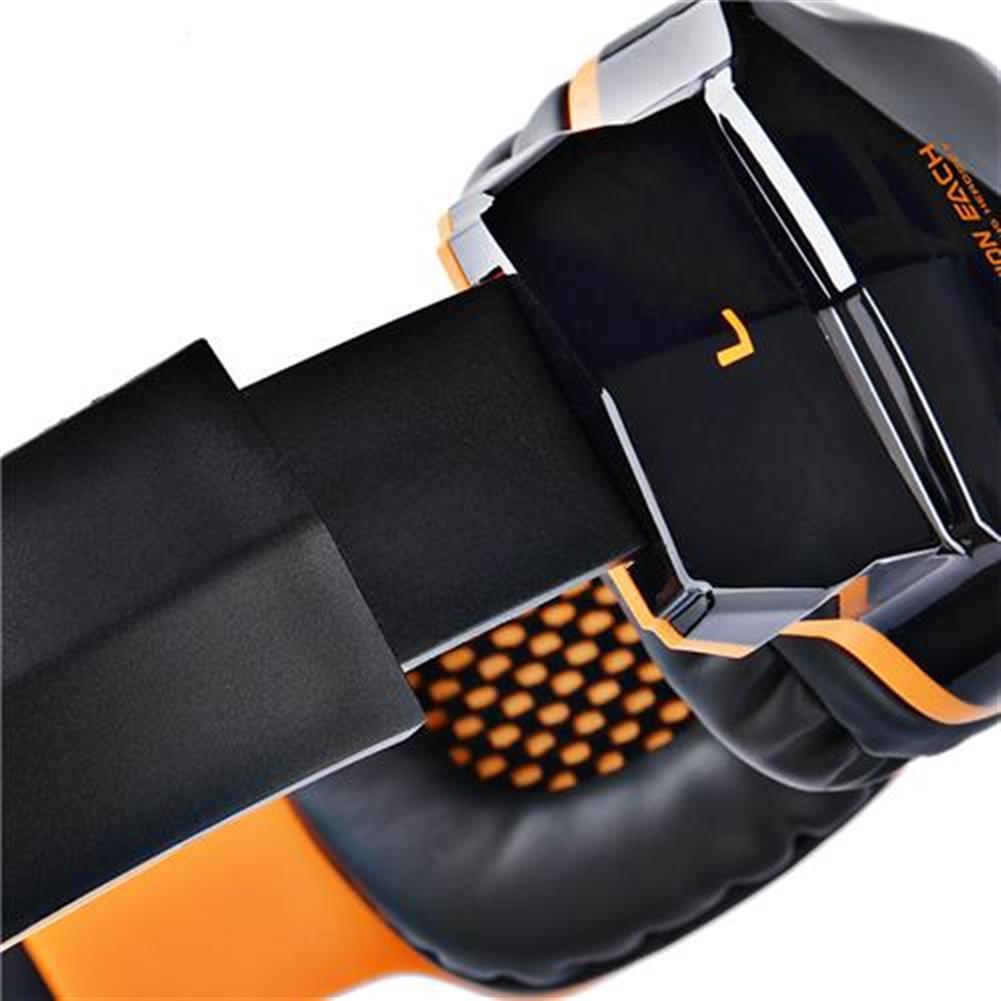 on-ear-over-ear-headphones KOTION EACH B3505 NFC Wireless Bluetooth 4.1 Stereo Gaming Headphone Headset With MIC - Black+Orange KOTION EACH B3505 NFC Wireless Bluetooth 4 1 Stereo Gaming Headphone Headset With MIC Black Orange 9