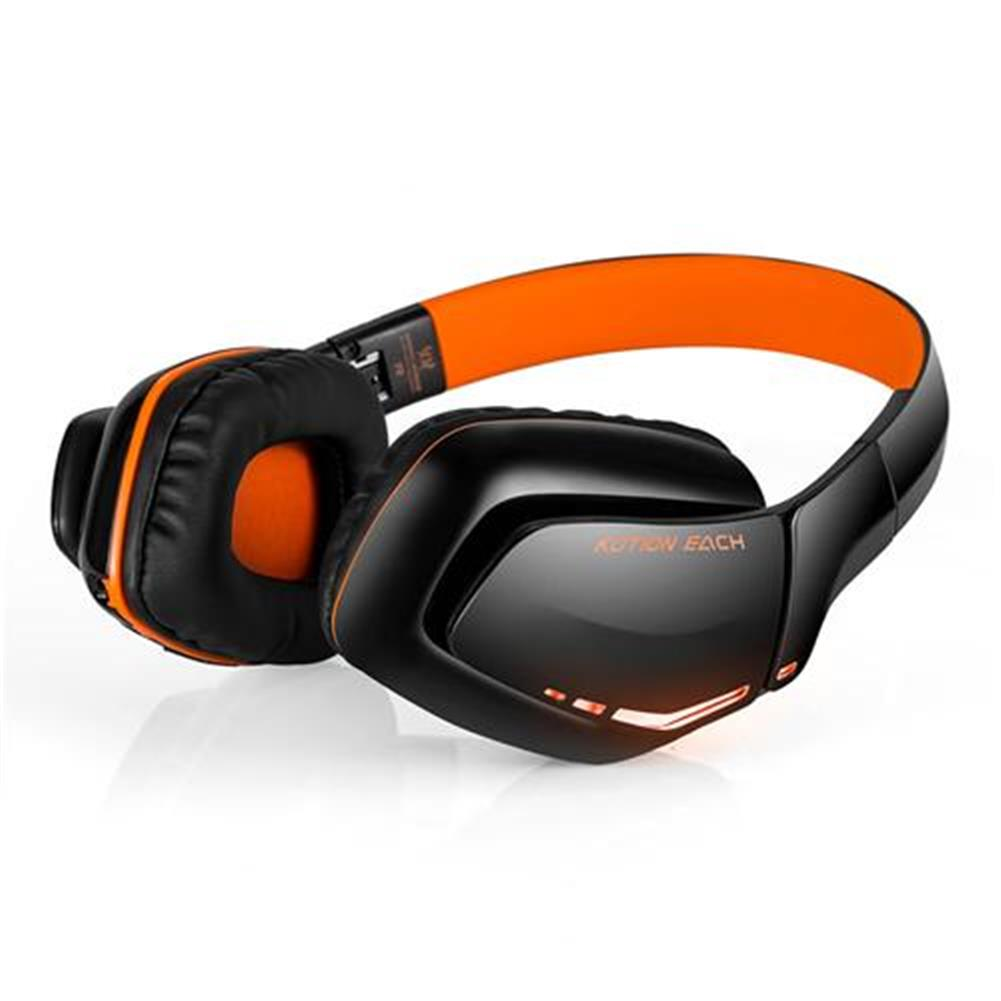 on-ear-over-ear-headphones KOTION EACH B3506 Foldable Bluetooth 4.1 Gaming Headsets with MIC - Black/Orange KOTION EACH B3506 Foldable Bluetooth 4 1 Gaming Headsets with MIC Black Orange 2