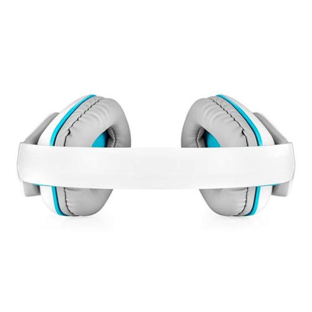on-ear-over-ear-headphones KOTION EACH B3506 Foldable Bluetooth 4.1 Gaming Headsets with MIC - White/Blue KOTION EACH B3506 Foldable Bluetooth 4 1 Gaming Headsets with MIC White Blue 4