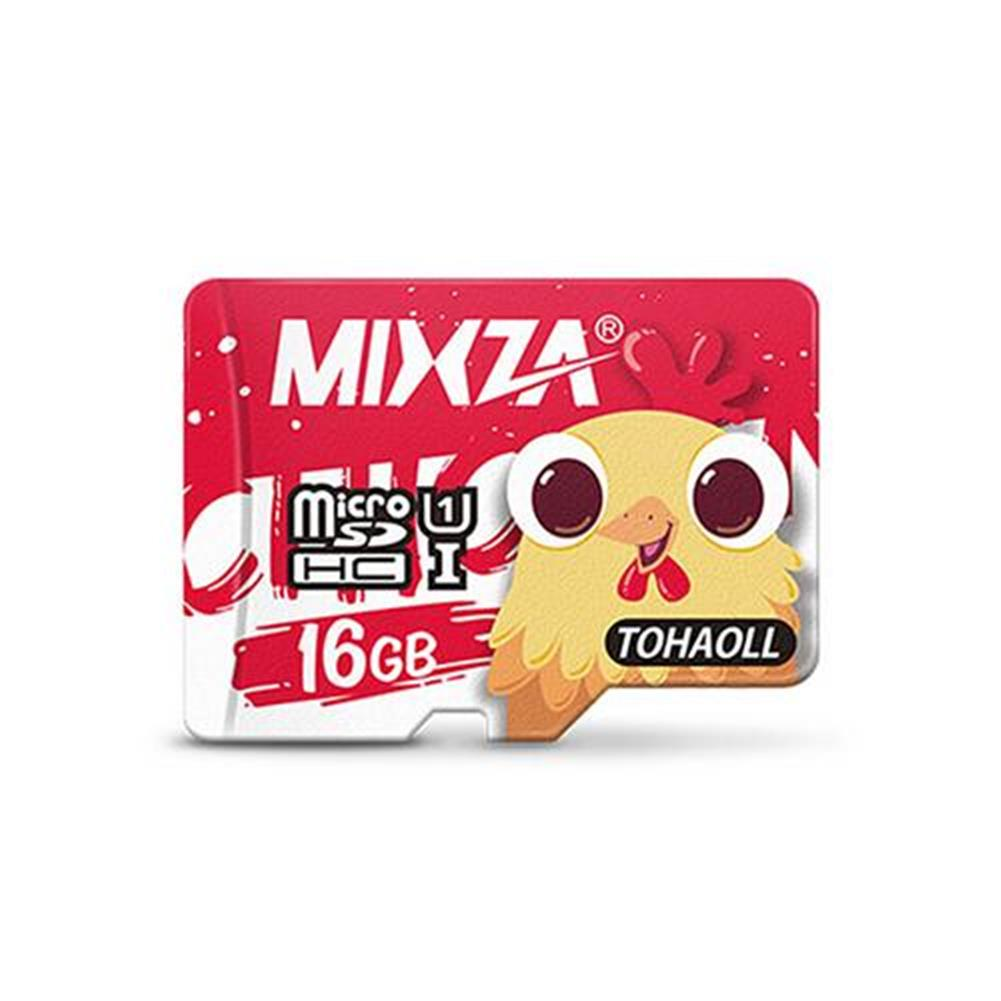microsd-tf-card MIXZA TOHAOLL Class10 SDHC Micro SD External Memory Card TF Card Rooster Year Edition for Phones Tablets - 16GB MIXZA TOHAOLL Class10 SDHC Micro SD External Memory Card TF Card Rooster Year Edition for Phones Tablets 16GB